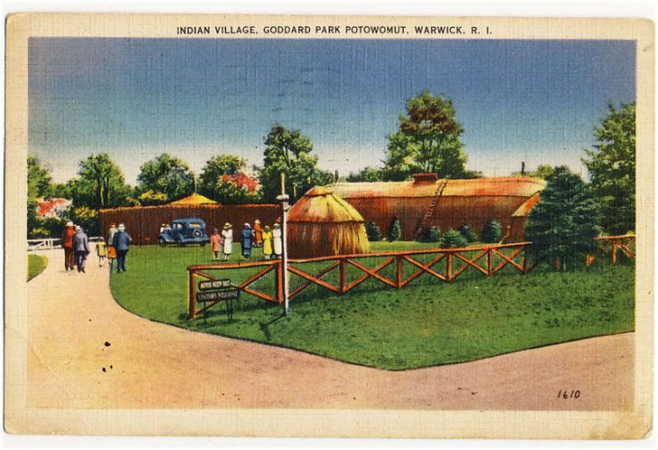 Indian Village at Goddard Park
